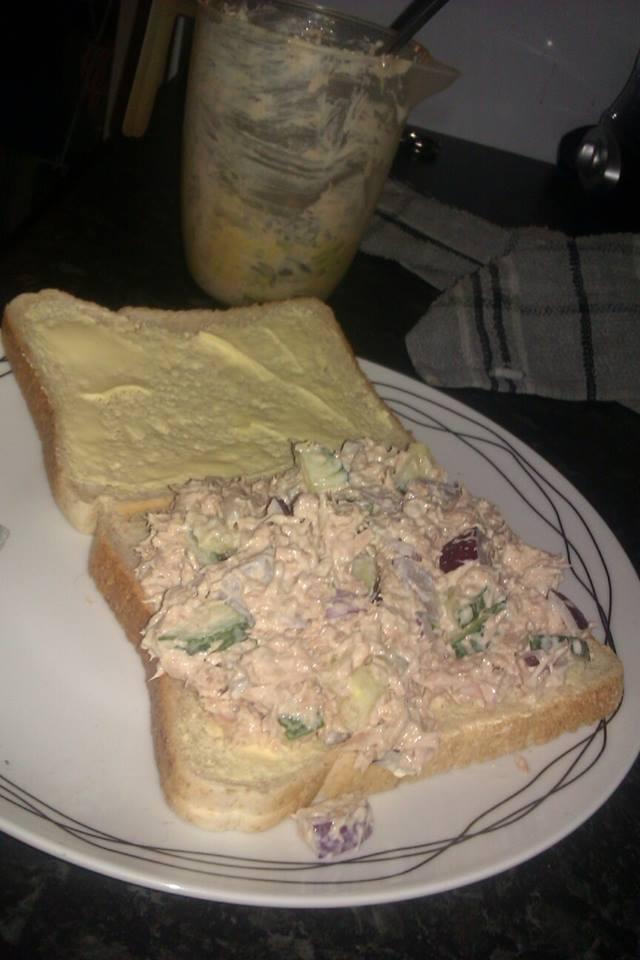 Hmmm sandwich.