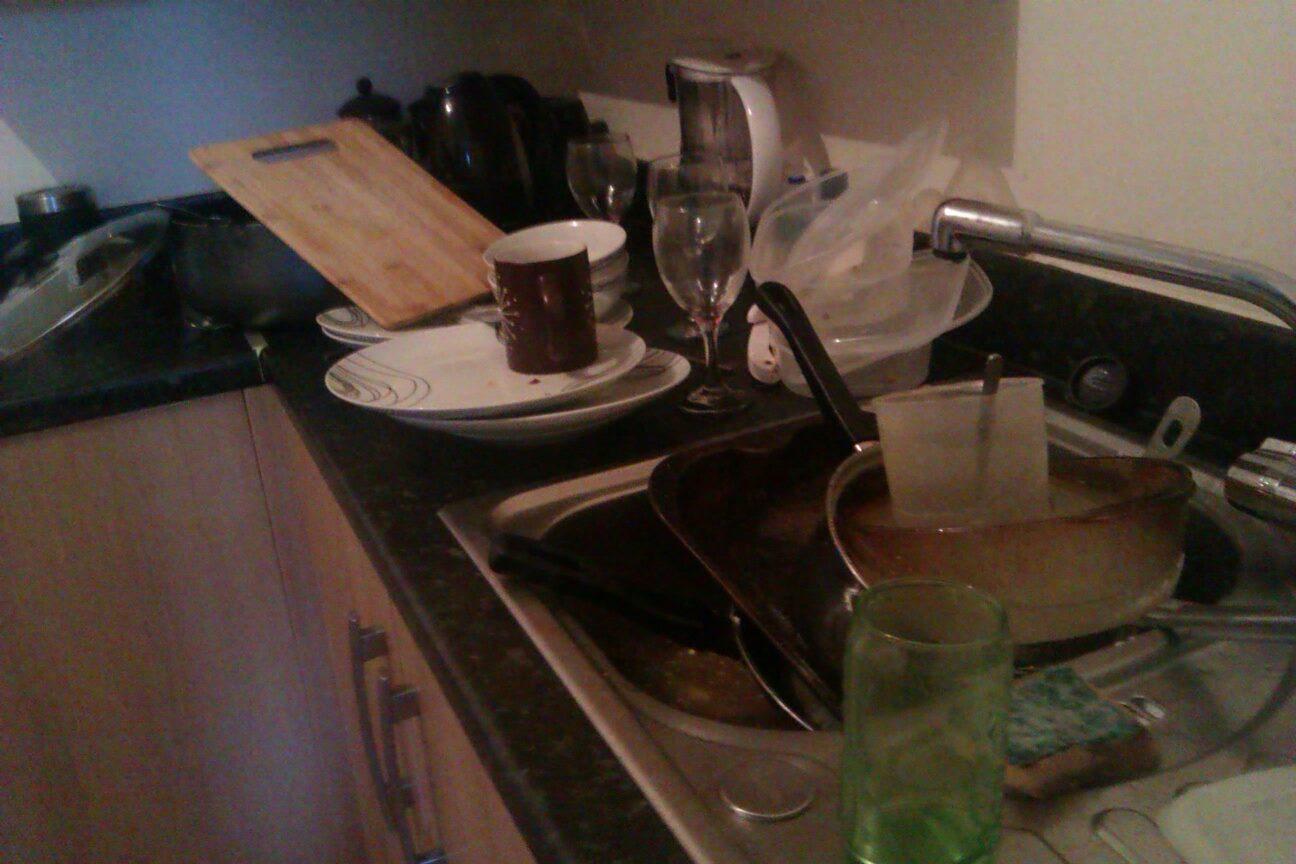 Washing up 1