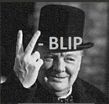 Churchill-first-V-sign - BLIP