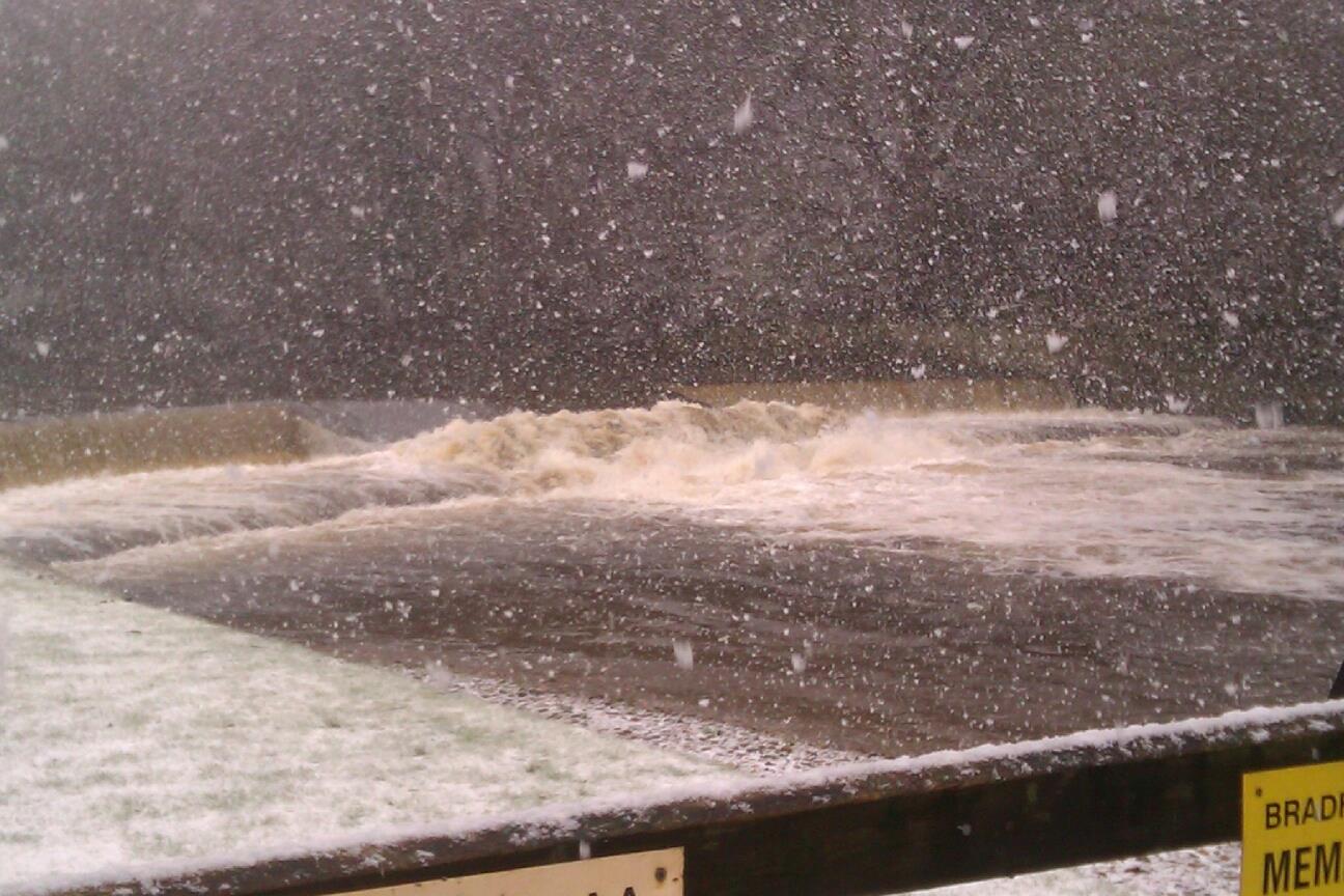 Weir snow