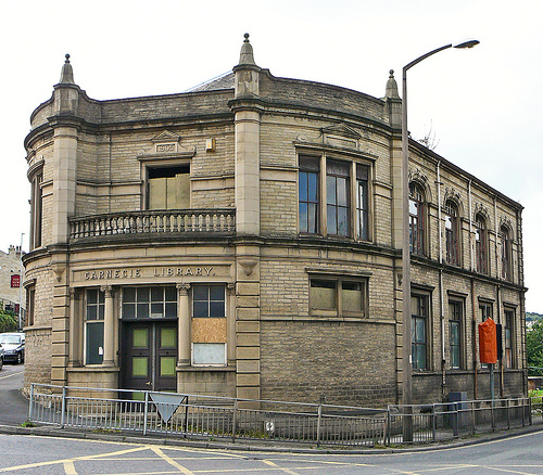 Carnegie library windhill